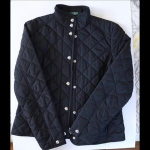 Ralph Lauren Quilted Black Jacket 🧥🔥Like New🔥